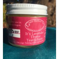 It's Lavender Thyme Teath Paste 3.5oz